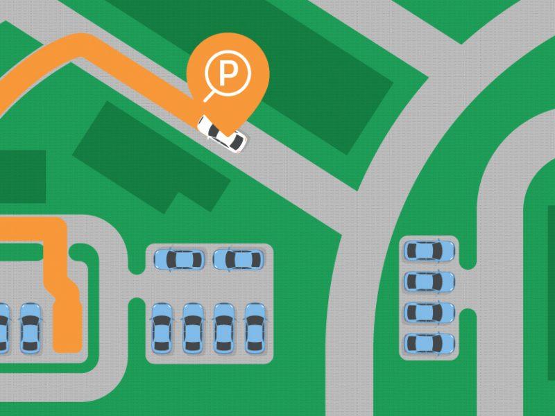 Умно паркинг решение за градовете на бъдещето