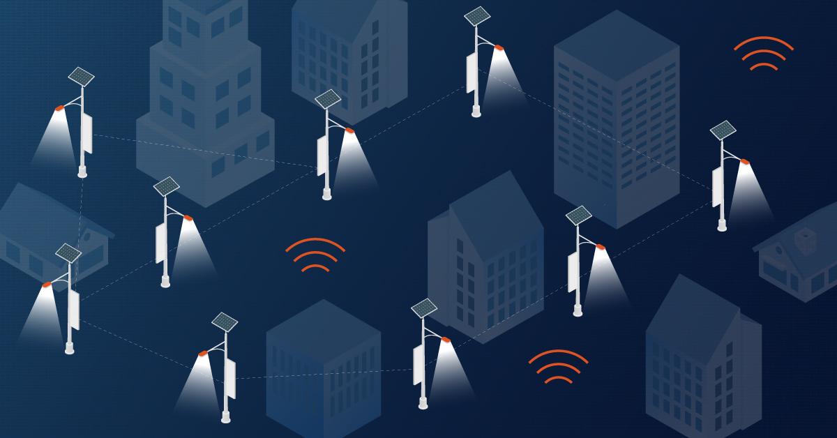 Intelligente Lichtmasten: Basis für die Einführung intelligenter Lösungen im städtischen Umfeld