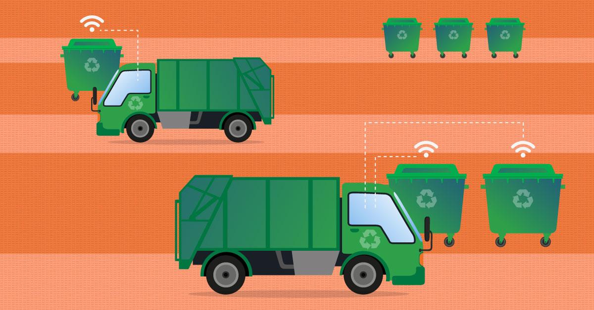 Jak rysuje się przyszłość zbierania śmieci?